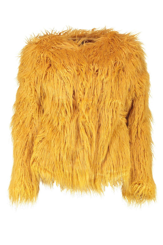 stile in Mongolia cappotto Anna pelliccia sintetica wvBIn8q