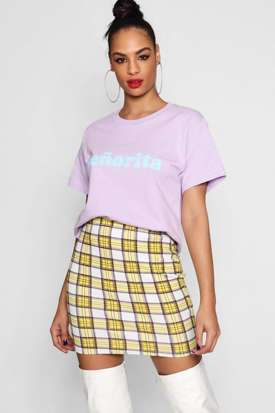 Molly Senorita Slogan T-Shirt