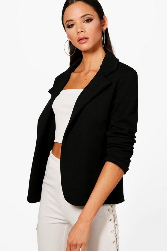 Womens Black Tailored Blazer