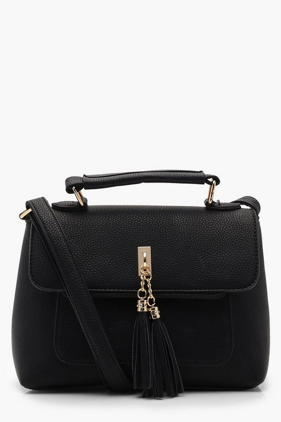 PU Tassel Cross Body
