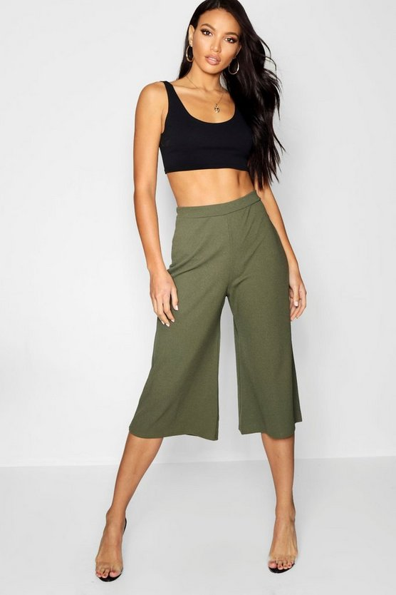 Jupe-culotte coupe large