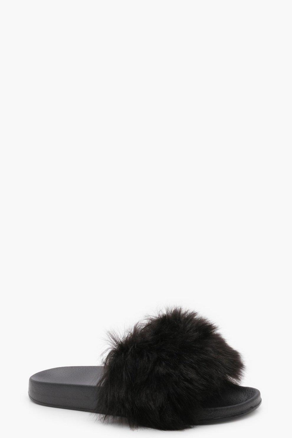 d21a36861140 Faux Fur Sliders