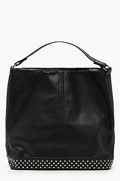 Studded Base Hobo Day Bag