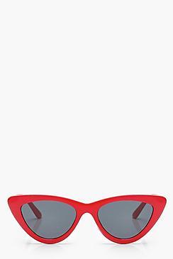 Retro Sunglasses | Vintage Glasses | New Vintage Eyeglasses Slim Extreme Cat Eye Sunglasses $12.00 AT vintagedancer.com