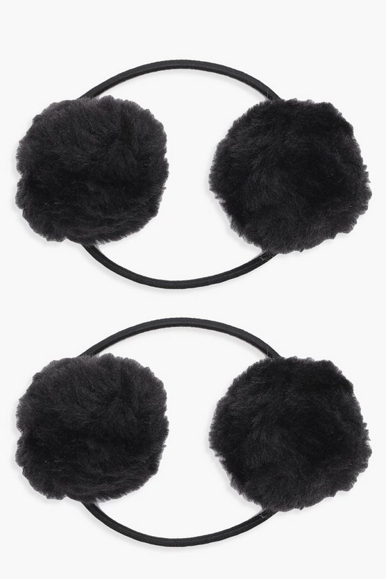 Yasmin Pom Hair Band 2 Pack
