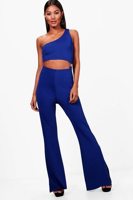Cut Out O-Ring Detail Jumpsuit