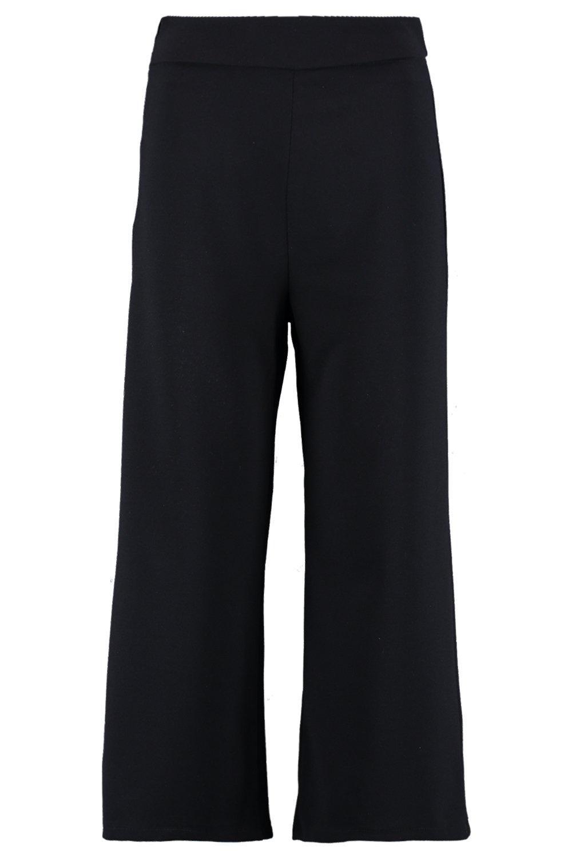 de pata silla Falda negro ancha pantalón O5x5wqf