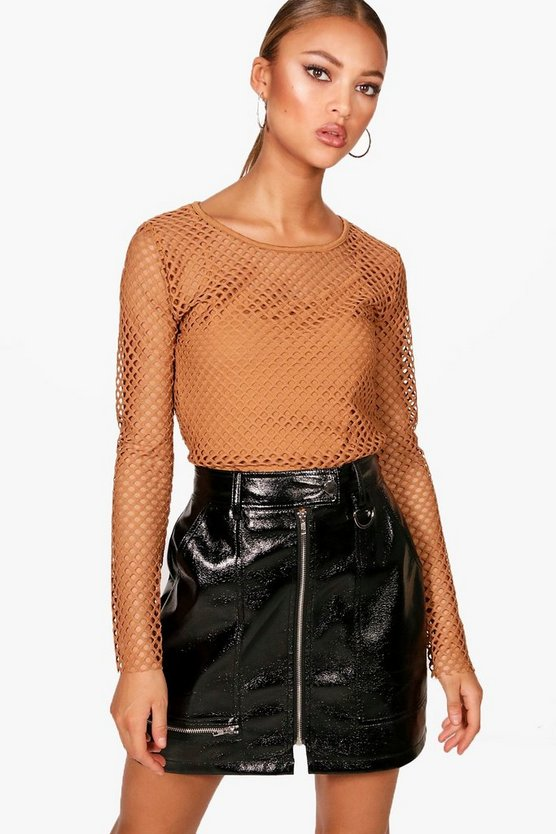 Large Open Mesh Top