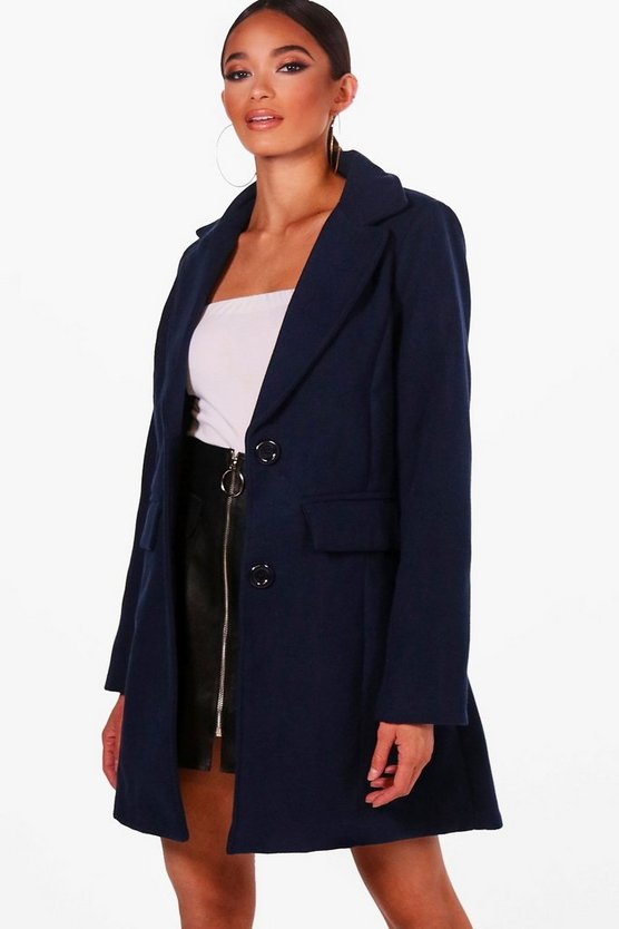 Wool Look Coat