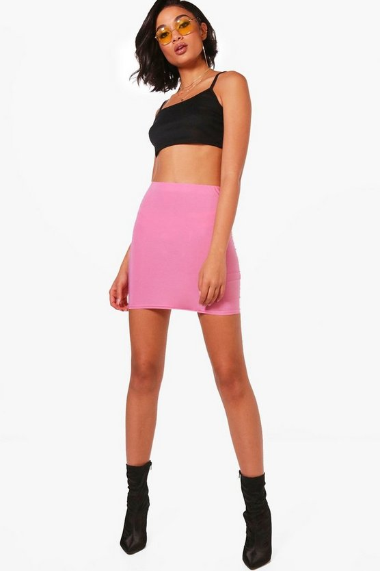 Skinny Basic Micro Mini Skirt