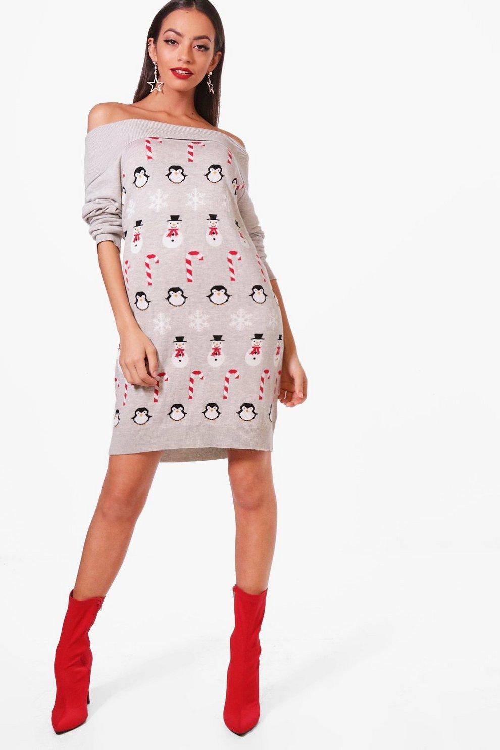 2e6baa98132 Bardot Christmas Jumper Dress