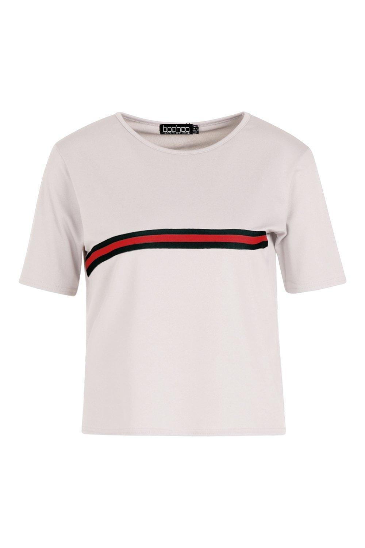 rayas a deportivos pieza con marl grey Camiseta x0zZUq