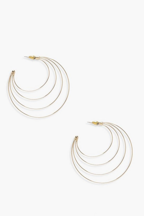 Isla Layered Hoop Earring