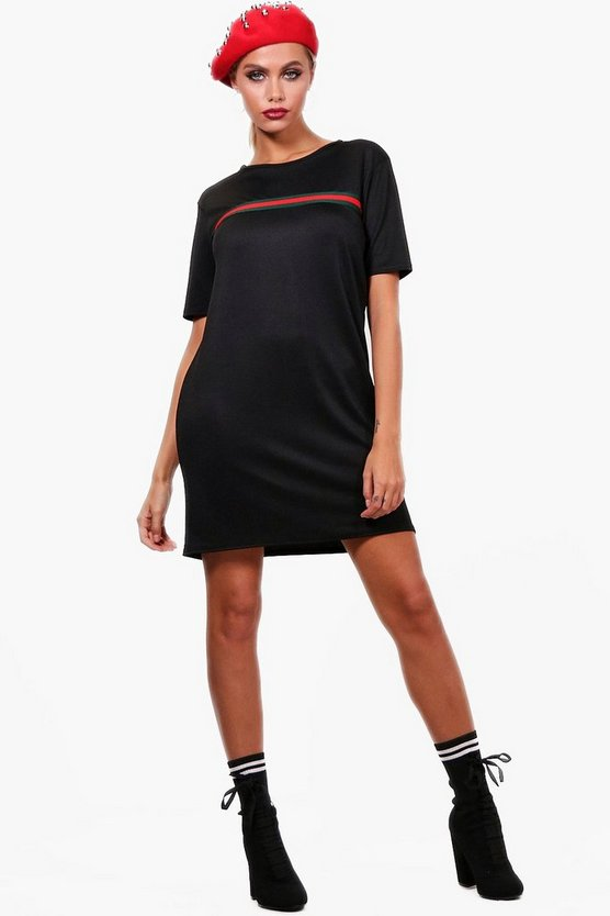 Harriet Sports Stripe T-Shirt Dress