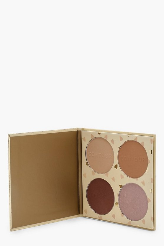 Divine Bronze Baked Hearts Contouring-Palette