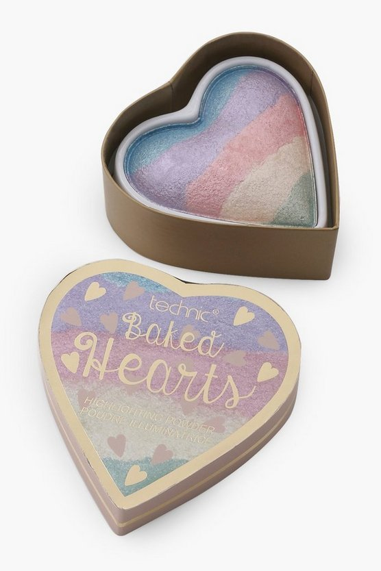 Technic Baked Hearts Highlighter Powder