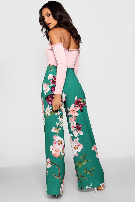 esmeralda Pantalones Oriental de pata ancha rwarICq