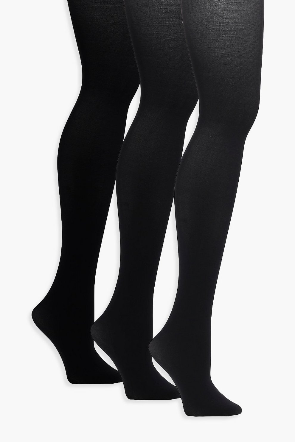 18f92ef68 Womens Black Jo 3pk Soft Touch Luxury 40 Denier Tights. Hover to zoom