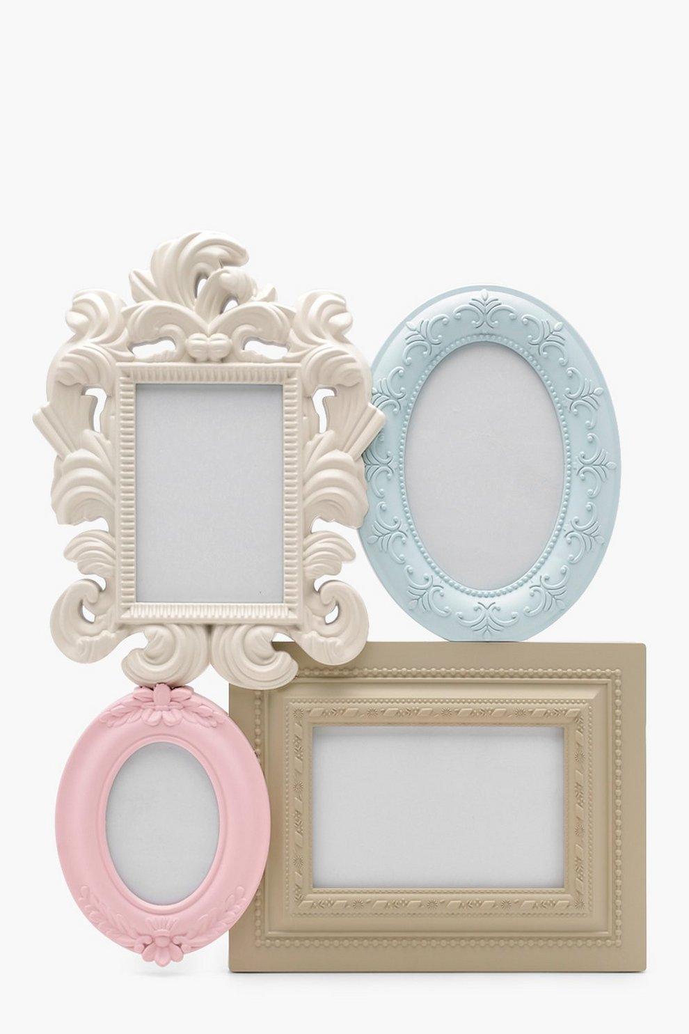 Pastel Vintage Multi Aperture Photo Frame | Boohoo