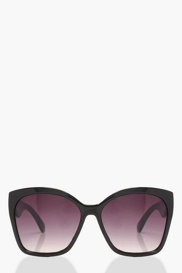 Womens Black Oversized Sunglasses