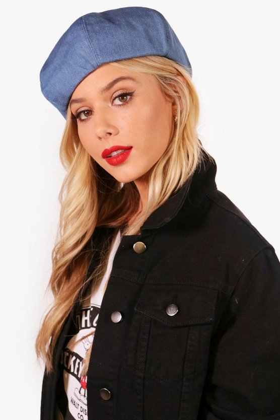 Hollie Denim Beret