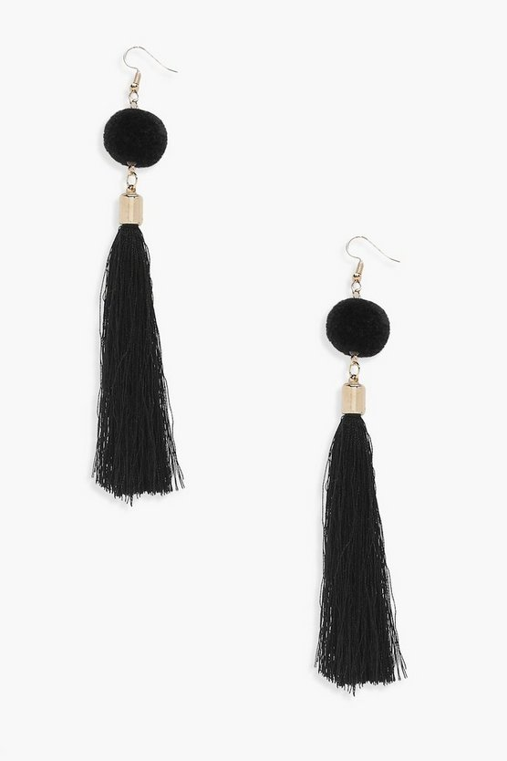 Moira Pom And Tassel Earrings