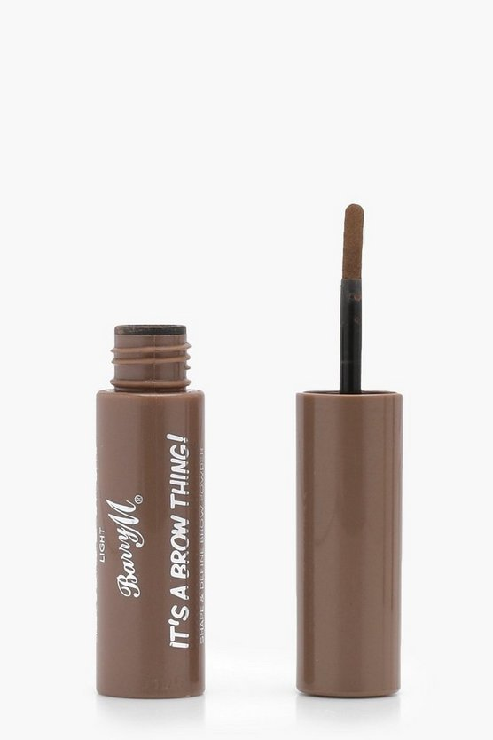 Womens Barry M It's A Brow Thing Powder Light