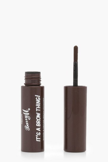 Medium brown Barry M It's A Brow Thing Powder- Medium