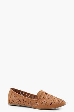 Lazer Cut Ballet Slippers