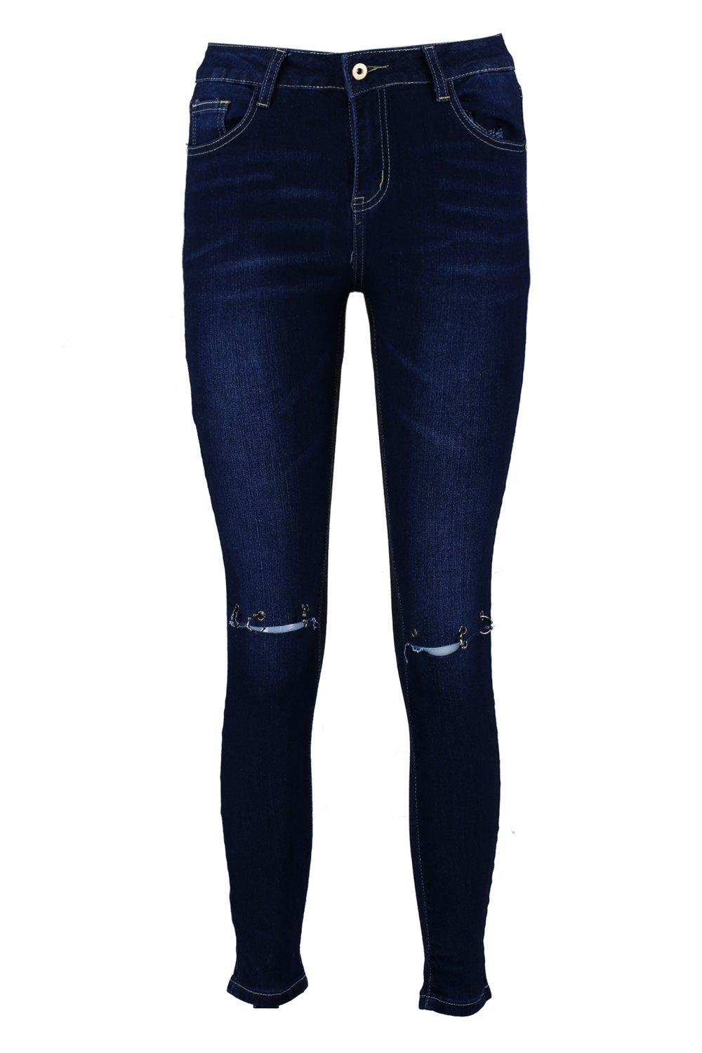 Skinny Mid Distressed Rise Jeans Mid Rise Distressed XwRS7B