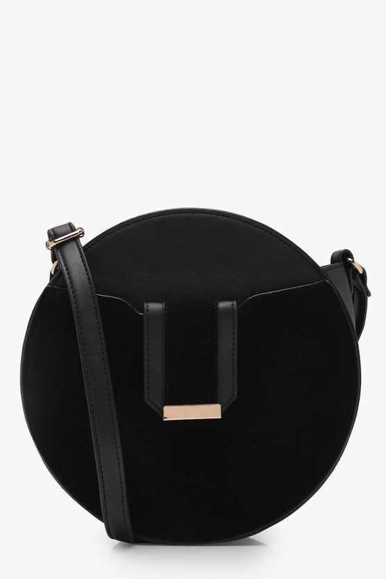 Structured Round Cross Body