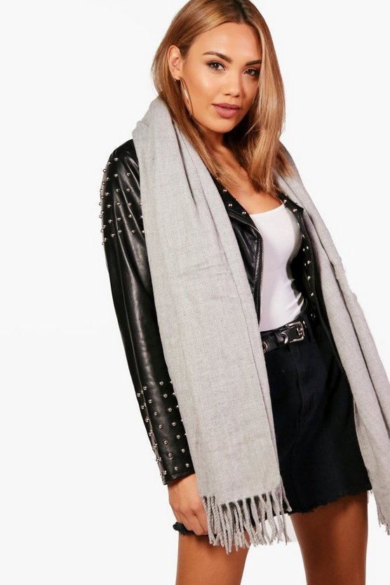 Kerry Oversized Brushed Scarf