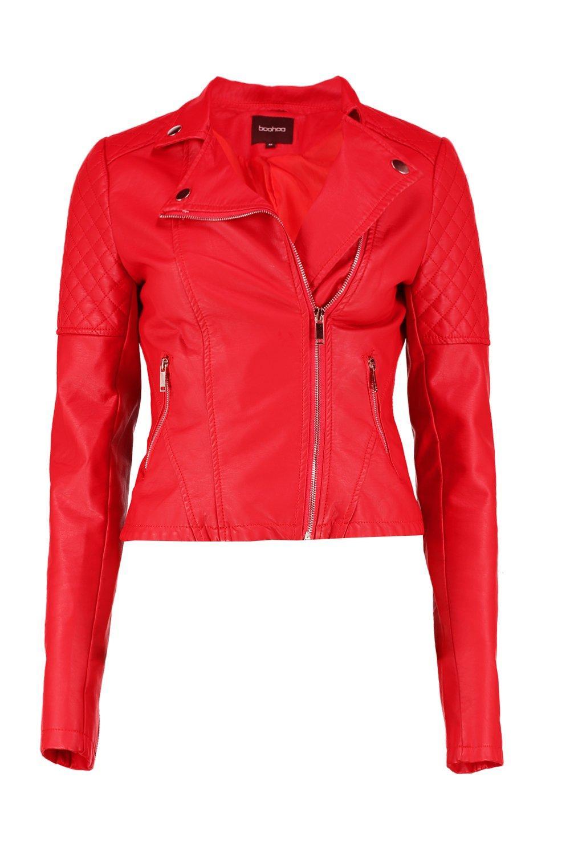 Jacket Leather Faux Biker Biker Leather Faux Faux Jacket Biker Jacket Leather Bavq4