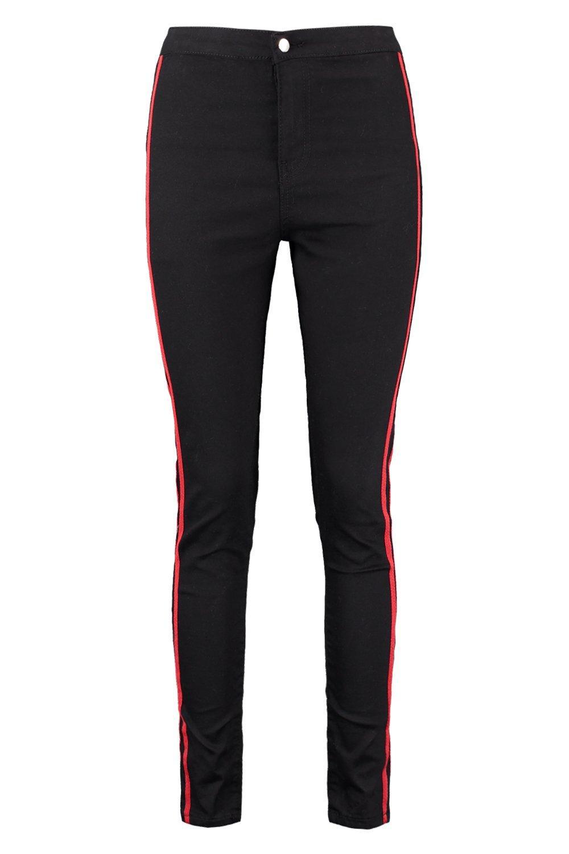 Stripe Tube Sport Sport Jeans black black Jeans Stripe Tube r7cr6an