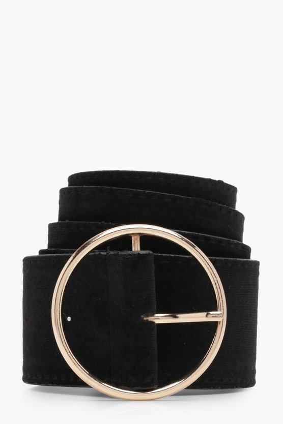 Millie Thin Circle Boyfriend Belt