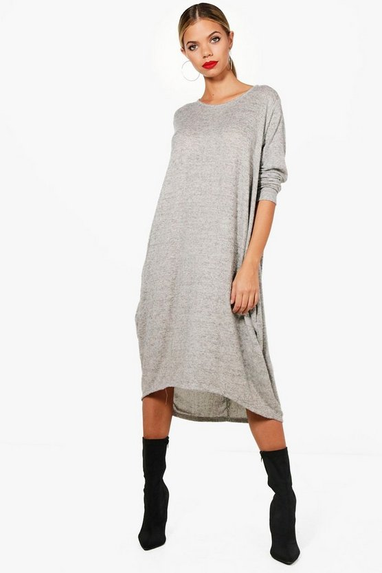 Orla Oversized Knitted Longsleeve Dress