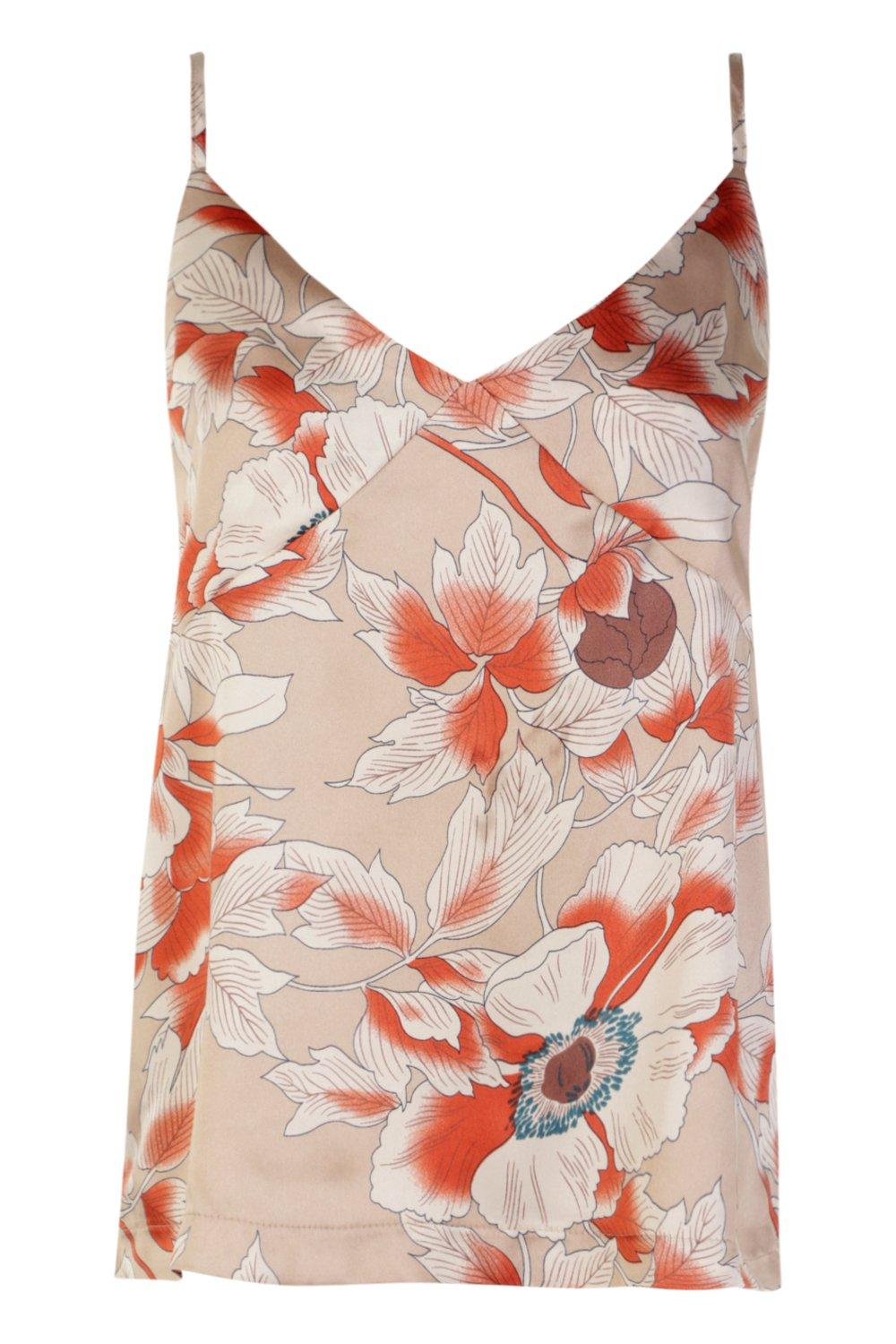 stone Top Floral Cami stone Floral Cami Premium Top Premium Floral Premium vf5qB0w