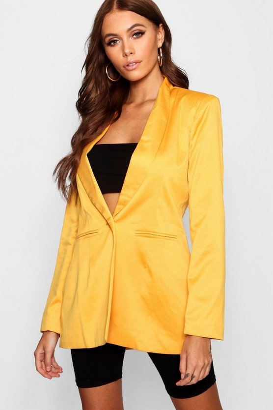 Boutique Plunge Blazer