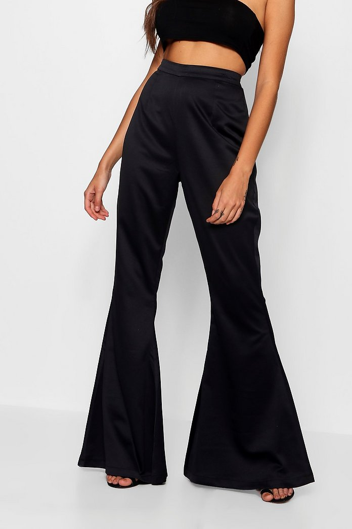 Boutique Flare Trouser | boohoo