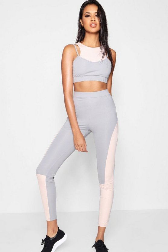 Fit Contour Panel Running Legging