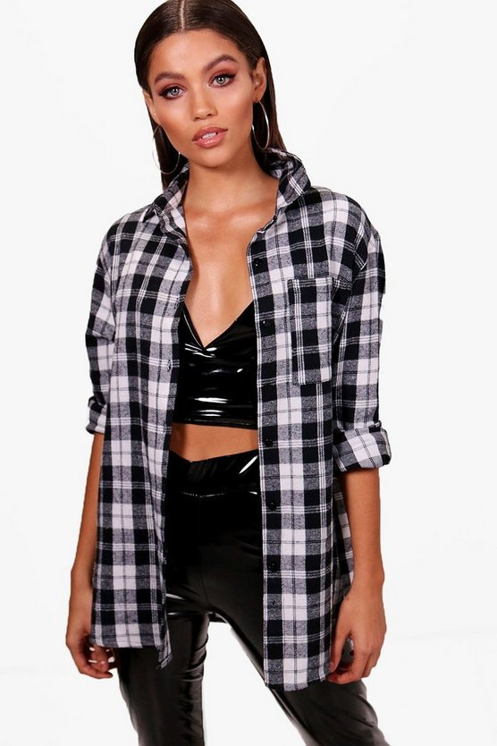 Lexi Oversized Checked Shirt