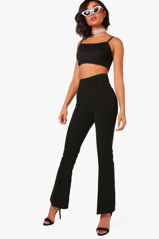 Stretch Flare Trousers