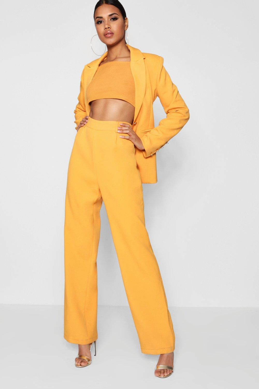 Trouser Leg yellow Leg Wide Leg Wide Trouser Wide yellow xaYwSSq
