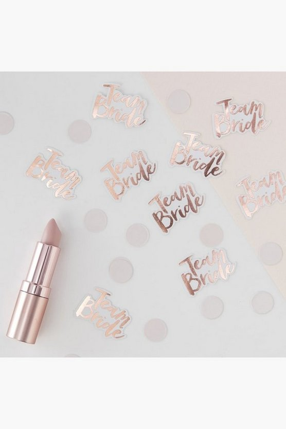 Ginger Ray Team Bride Confetti, Pink, Donna