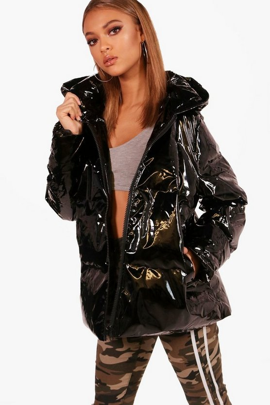 Oil Slick Padded Jacket