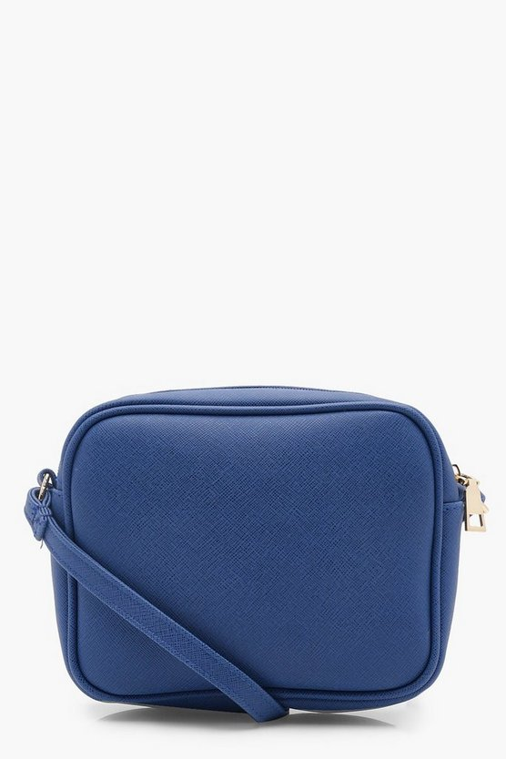 Womens Cobalt Aimee Zip Around Cross Body Bag