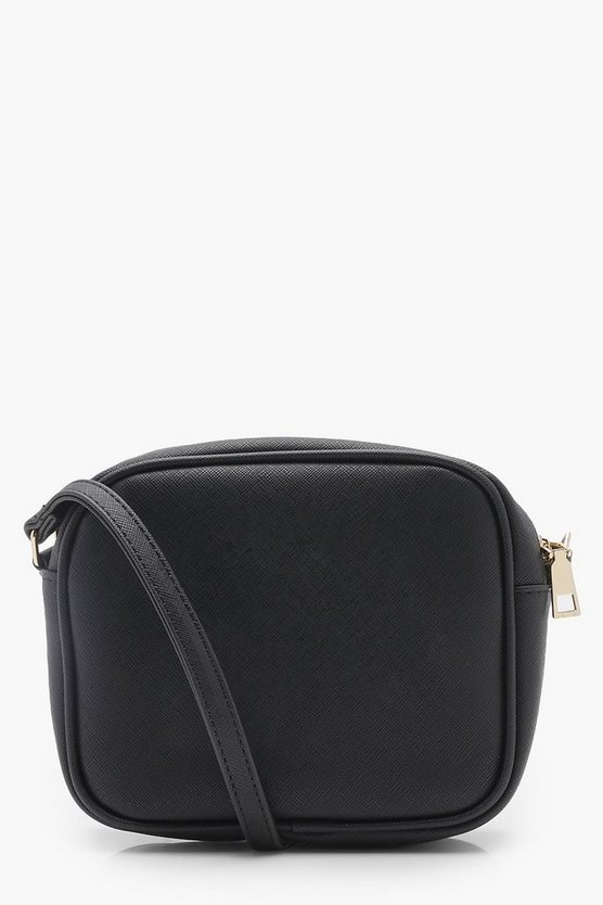 Zip Around Cross Body Bag