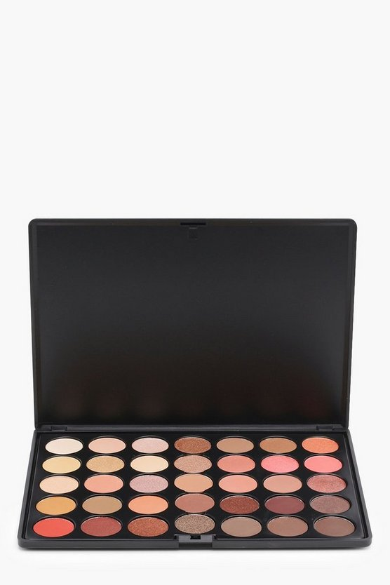Crown 35 Colour Rose Gold Eye Palette