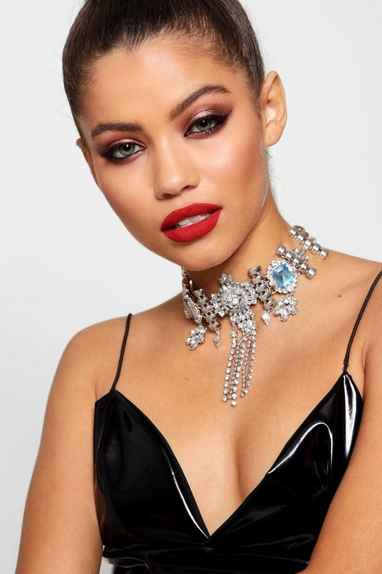 Statement Diamante Festival Choker