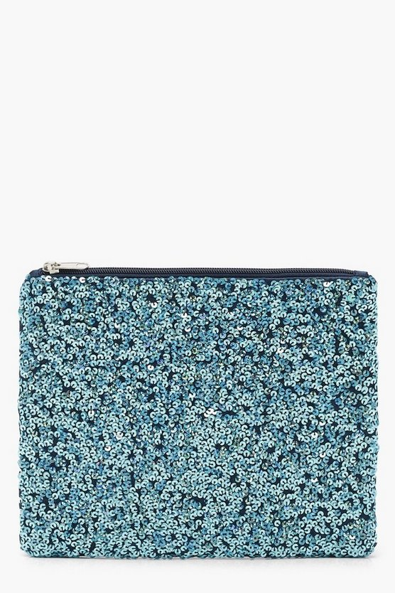 Mermaid Sequin Clutch